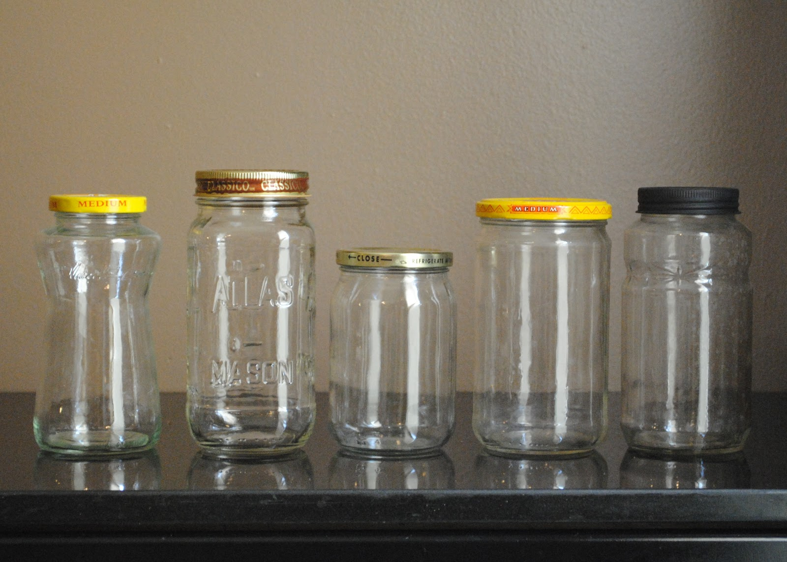 i thought of it second glass jars saving and reusing salsa