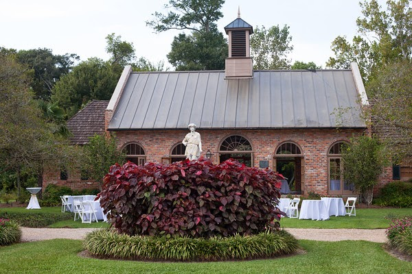 Burden center orangerie wedding