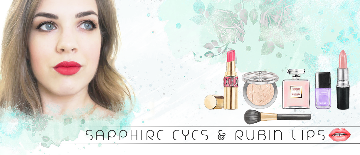 Sapphire Eyes and Rubin Lips