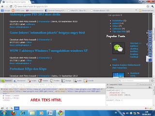 edit html dengan cepat