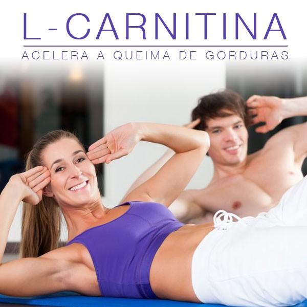 L- Carnitina Acelera a queima de gordura