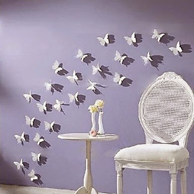 Mariposas para Decorar la Pared
