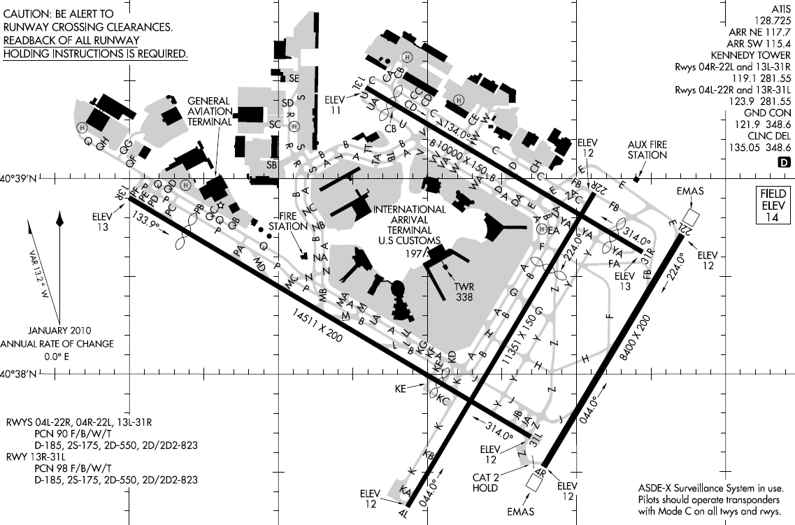 Adventures of capn aux capn aux answers your avgeek qs part iv jfk airport diagram note runway 4r lower right corner pooptronica Gallery