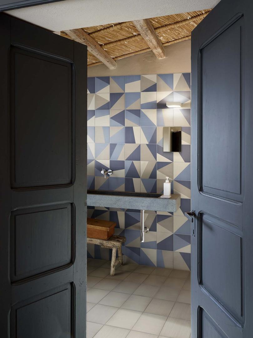Ceramiche bardelli collezione tangram for Piastrelle cucina disegnate
