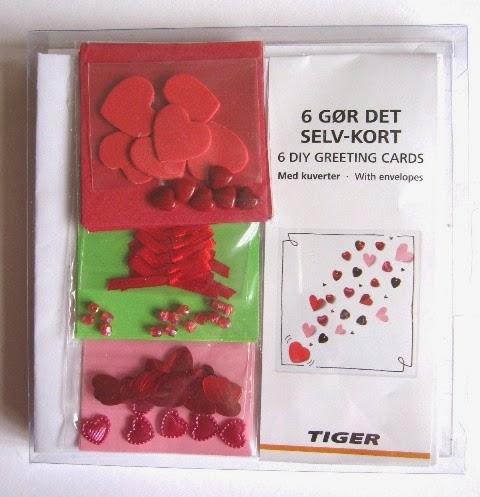 pack tarjetas regalo San Valentin TIGER