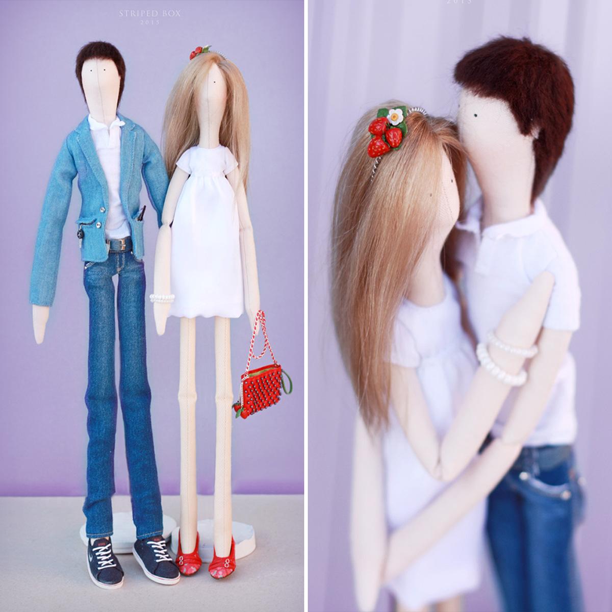портретные куклы по фото