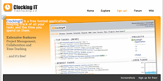 Clocking IT: Aplicación gratuita para gestión de proyectos