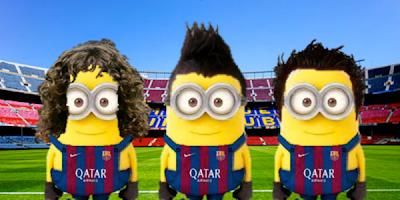 Minions del barcelona - Futbol Parodia