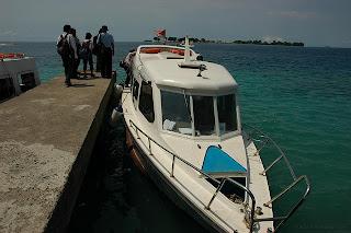 Kapal Kerapu ke Pulau Tidung