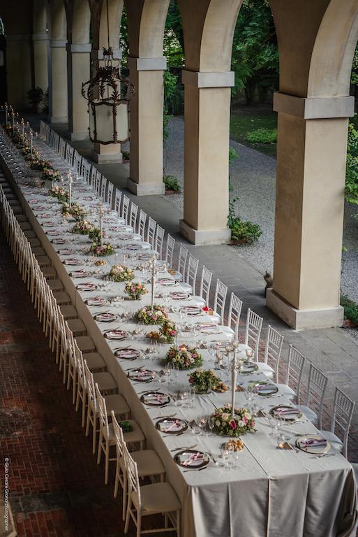 Posto al gusto n 50 il tavolo imperiale per nozze da favola - Posto con molti specchi ...