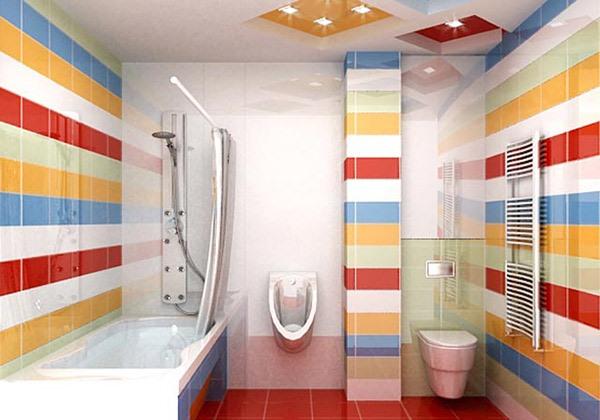 Desain interior model kamar mandi minimalis 2015