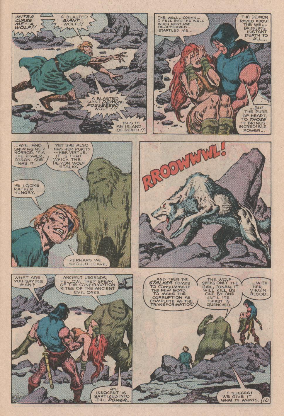 Conan the Barbarian (1970) Issue #178 #190 - English 11