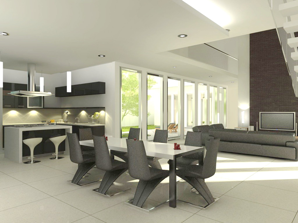Contemporary dining room furniture furniture for Contemporary furnishings