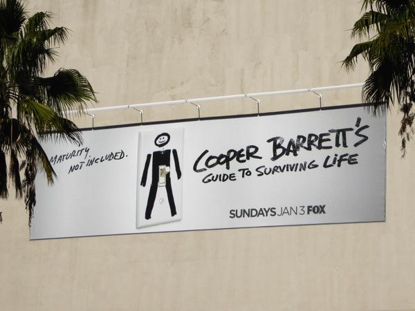 Cooper Barrett's Guide to Surviving Life season 1 billboard