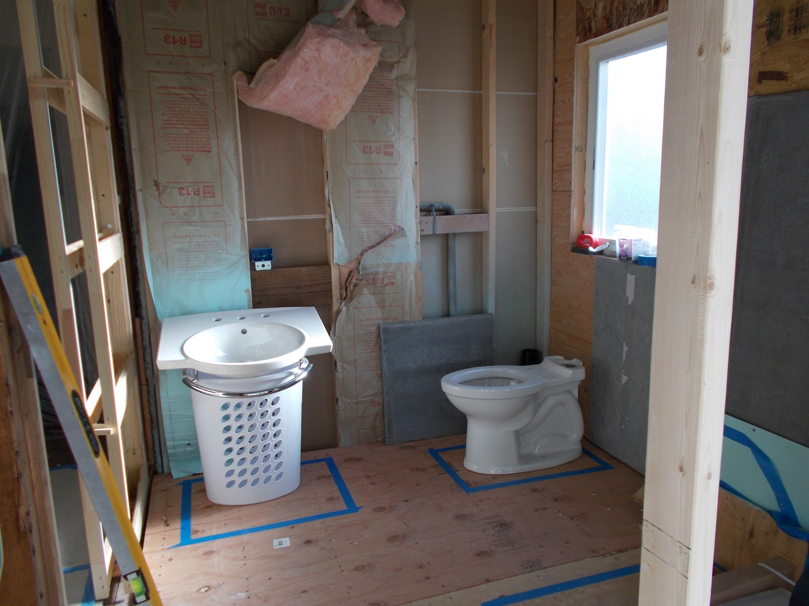 Back bathroom floor plan revisions for Bathroom ideas 7x7