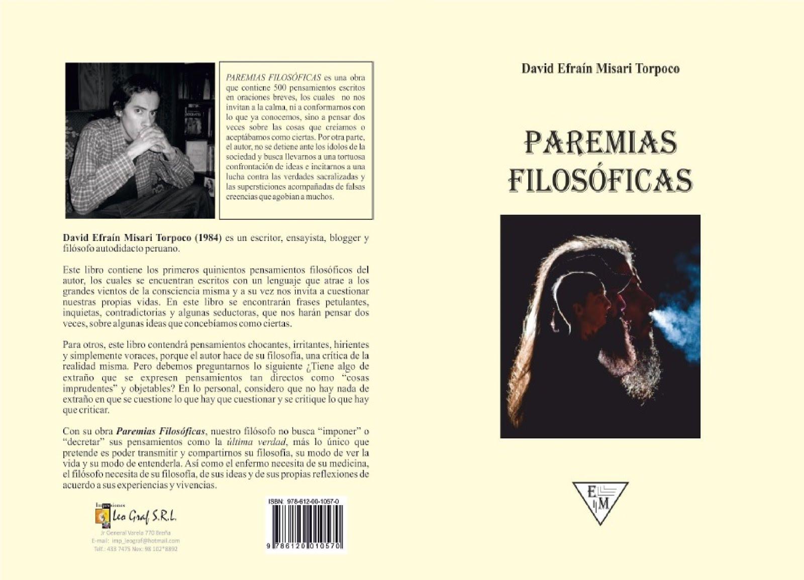 Libro: Paremias Filosóficas