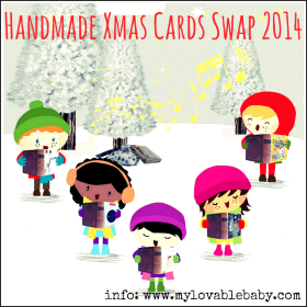 Ελάτε να σχεδιάσουμε τις δικές μας χειροποίητες Χριστουγεννιάτικες κάρτες (Πρόσκληση στο 2014 Handmade Xmas Cards Swap)