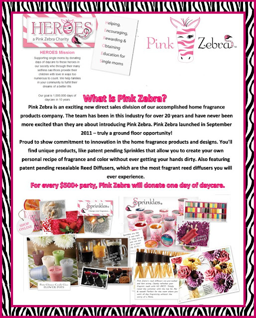 What is Pink Zebra Direct Sales Company Information Image