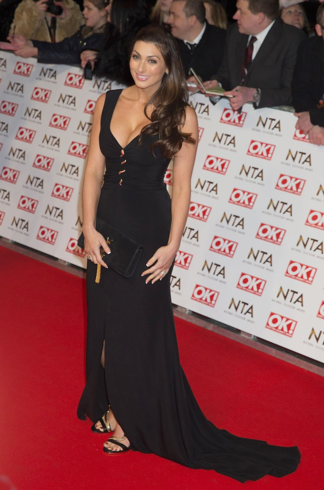 Entrepreneur, reality television contestant: Luisa Zissman - National Television Awards in London
