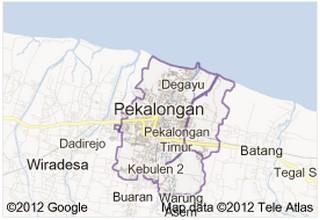 Peta Pekalongan