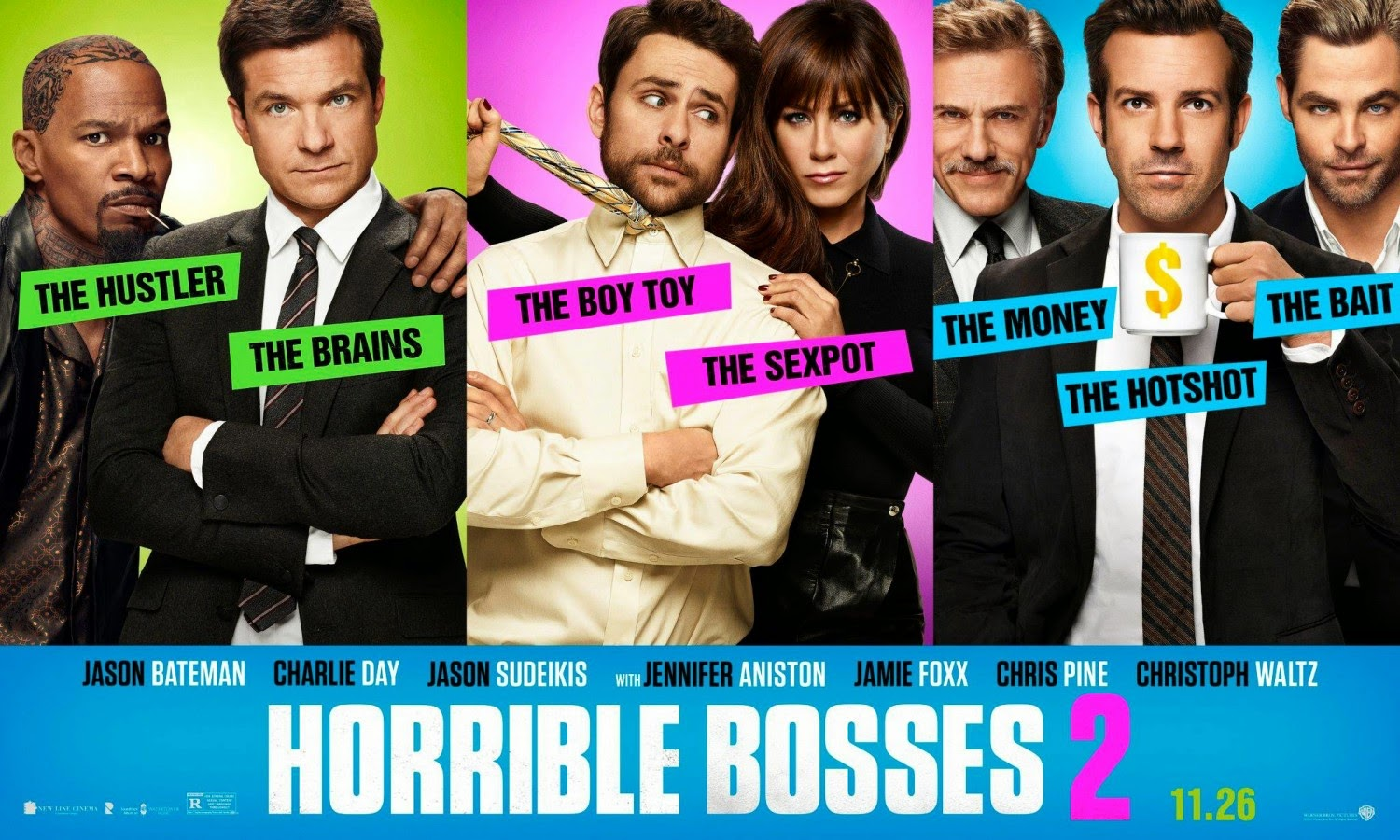 Official 'Horrible Bosses 2' Poster.