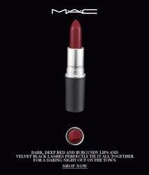 lipstick lip, fashion, style, fashion blogger, beauty blogger, high-quality, affordable Beauty, MAC Dark Side, All Day Lipstick, darklipstick, MAC Cosmetics - MAC Lip Care - Lipstick - Dark Side ,