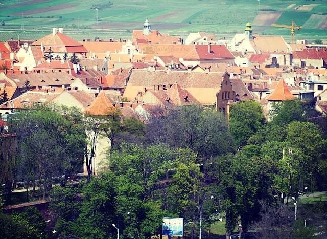 panorama centru istoric sibiu ibis