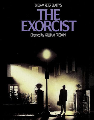 "Cartel de ""El Exorcista"" (William Friedkin, 1973)"