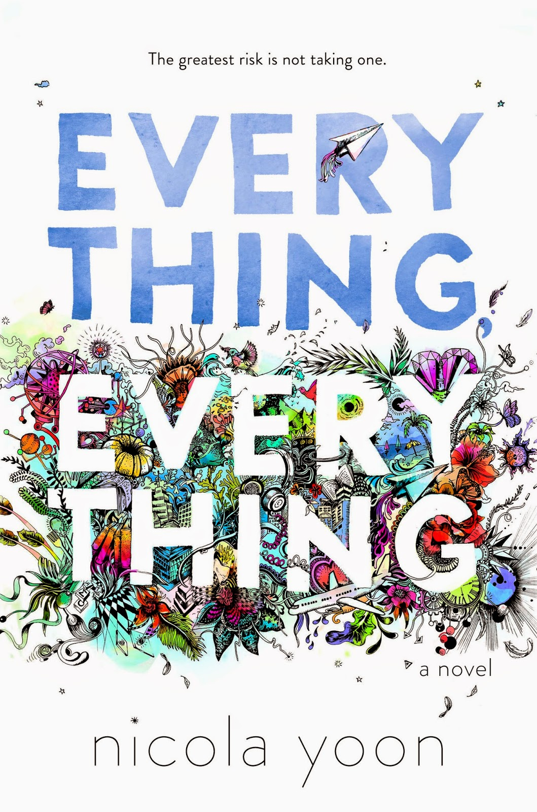 Image result for everything everything book cover