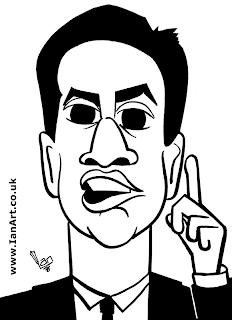 Ed Miliband Caricature
