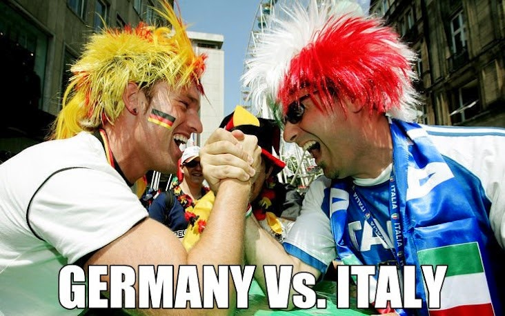 italy vs. germany world cup