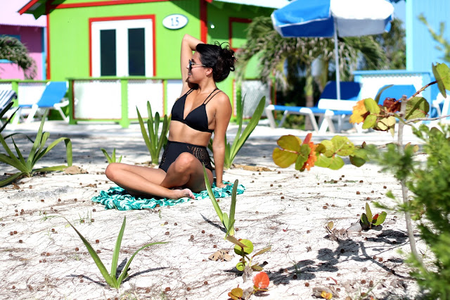 how to wear high waist bikini, Caribbean Cruise