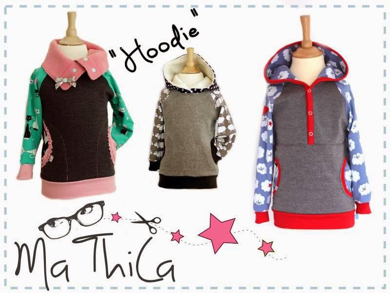 Hoodie Pullover Baby Kind MaThiLa Sweat kuschelig grau Junge Bremen Buntje handmade