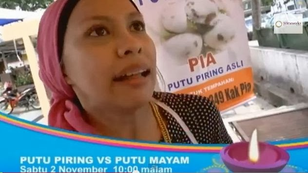 Putu Piring Vs Putu Mayam, Cerekarama TV3 (2013)