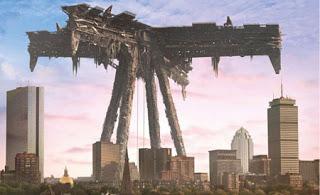 Una de las torres de la serie Falling Skies