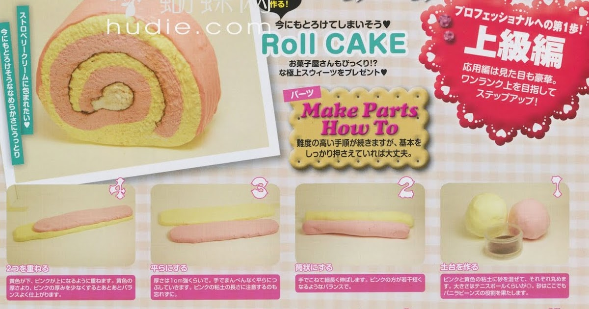 Art Deco Roll Cake : Kai Oceans: How To Make A Sweets Deco Roll Cake