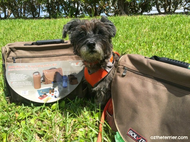 HomeAway Travel Bag for Pets is great for extended stays away from home