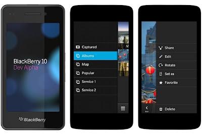 Blackberry 10 Alpha Wajah Baru dari Blackberry