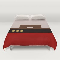 Commander William T Riker - Star Trek: The Next Generation Duvet Covers