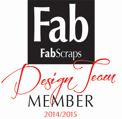 Proud Member of FabScraps Design Team