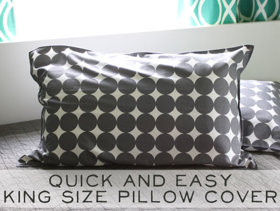 Easy Pillow Cover Tutorial: Quick and Easy Pillow Cover Tutorial   The Cottage Market,