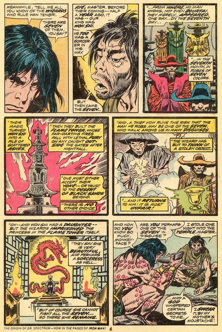 Conan the Barbarian (1970) Issue #33 #45 - English 5