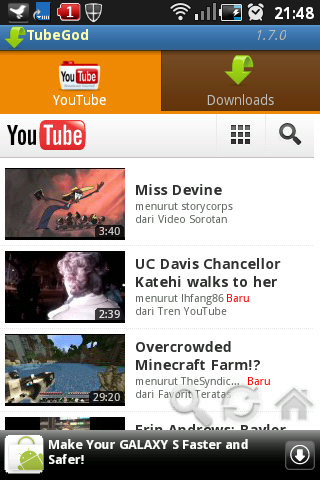 ANDROID | Download Videos Youtube Dengan Sangat Mudah | The New Info