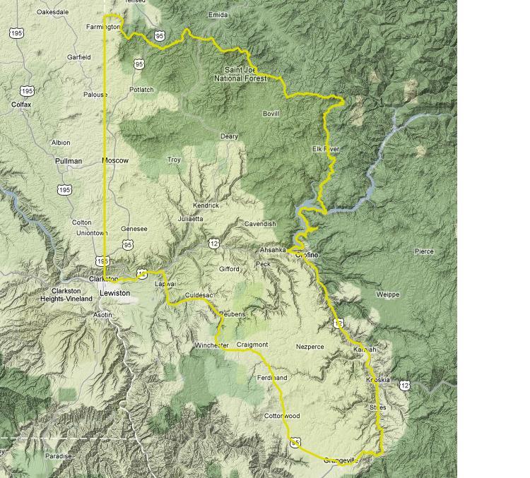 Round 1: Palouse Elk Zone vs. McCall Elk Zone ~ IDAHOMAN