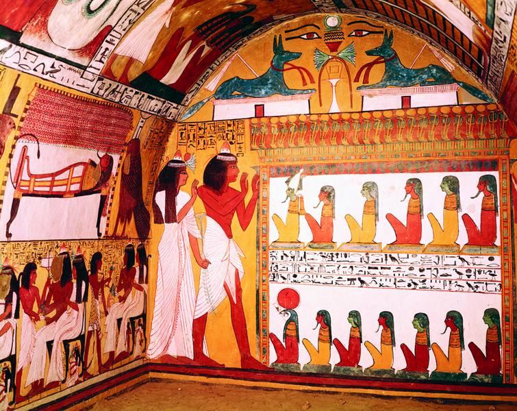 Vc l 39 espace duesberg verviers le 4 juin 2012 20h for Ancient egyptian mural