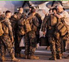 """EE UU hará controles """"muy estrictos"""" de ébola a sus soldados en España."""