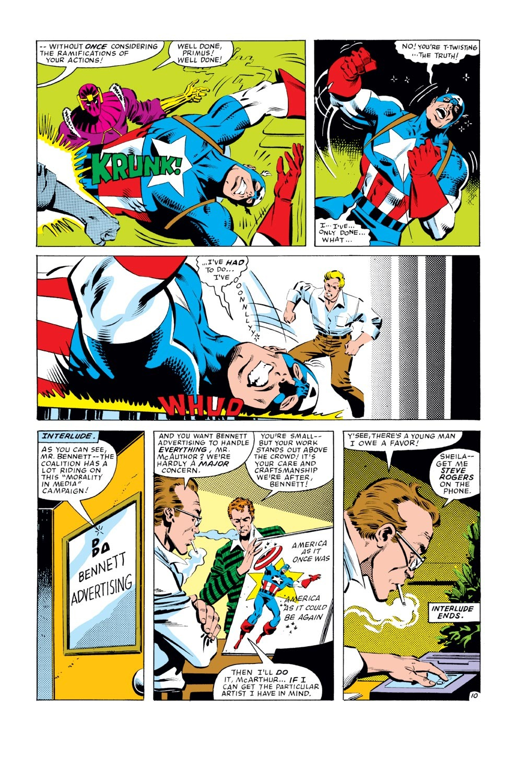 Captain America (1968) Issue #277 #193 - English 11