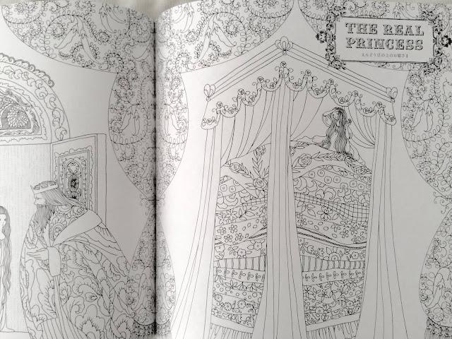 Princesses & Faeries Adult Coloring Book by Tomoko Tashiro