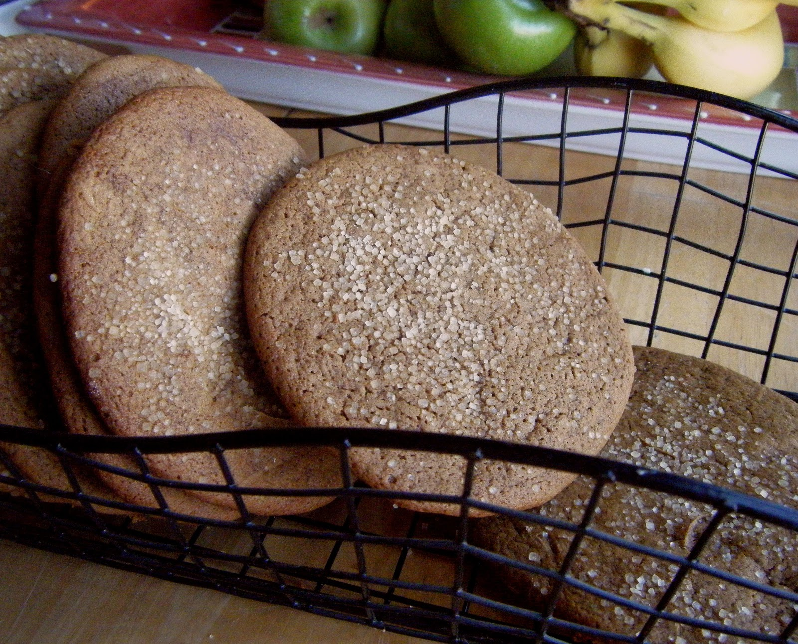 ... baker: Baked Sunday Morning: Ginger Rum Molasses Cookies/ Joe Frogger