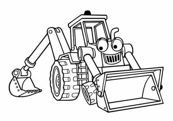 Bob The Builder Coloring Pages - Best Gift Ideas Blog
